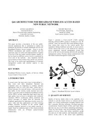 QoS ARCHITECTURE FOR BROADBAND WIRELESS ... - Kambing UI