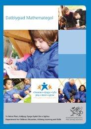 Datblygiad Mathemategol - Learning Wales