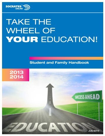 Student and Family Handbook - SOCRATES Online