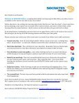 Student and Family Handbook - SOCRATES Online - Page 3