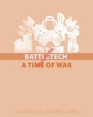 A Time of War: The BattleTech RPG