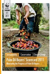 Palm Oil Buyers' Scorecard 2011