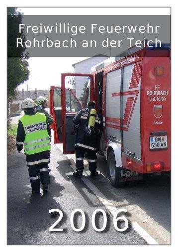 Download (pdf) - Freiwillige Feuerwehr Rohrbach an der Teich