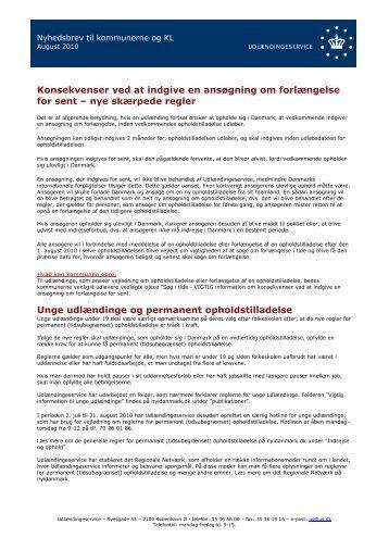 Nyhedsbrev til kommunerne og KL, august 2010 - Ny i Danmark
