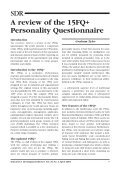 A review of the 15FQ+ Personality Questionnaire - Page 3