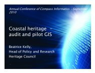 Coastal heritage - audit and pilot GIS