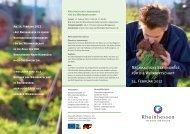 Nachhaltigkeitskongress für die Weinwirtschaft 14. Februar 2012