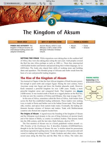 Aksum Magazines