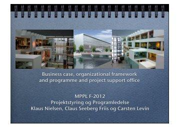 MPPL F-2012 Projektstyring og Programledelse Klaus Nielsen ...