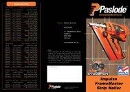 Impulse FrameMaster Strip Nailer - Paslode Australia