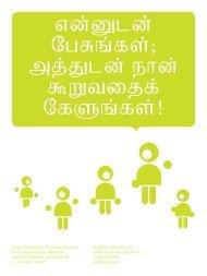 Sprich mit mir und hör mir zu! Tamilisch (pdf) - Buchstart