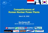 Nuclear Power Plants in Korea