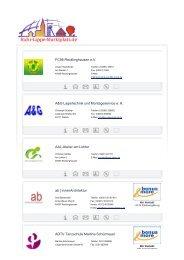 FC96 Recklinghausen eV A&G Lagertechnik und Montageservice e ...