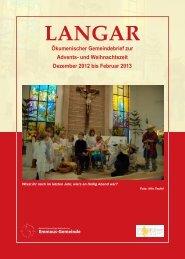 Ökum. Gemeindebrief (Nr.13, Dezember 2012 - Februar 2013)