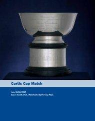 Curtis Cup Match - USGA
