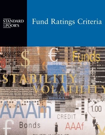 Fund Ratings Criteria - Florida State Board of Administration