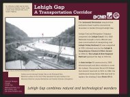 A Transportation Corridor - The Delaware and Lehigh National ...