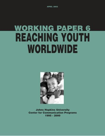 Reaching Youth Worldwide - PDF - Johns Hopkins Center for ...