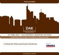 5. Deutsche Distressed-Assets-Konferenz