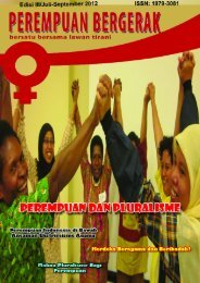 Perempuan Bergerak - Kalyanamitra