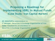 Proposing a Roadmap for Implementing XBRL in Mutual Funds