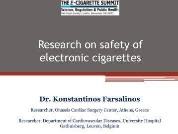 Research-on-Safety-of-Electronic-Cigarettes-Dr.-Konstantinos-Farsalinos-E-Cigarette-Summit