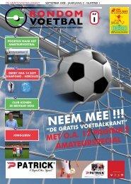 seizoen 2008/2009 nummer 1 - Rondom Voetbal