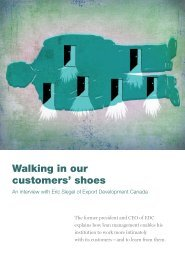 Walking in our customers' shoes - McKinsey & Company