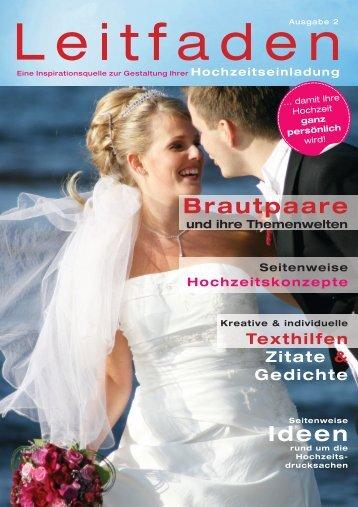 Brautpaare Ideen