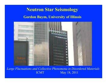 Neutron Star Glitches