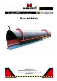 Reservdelslista - Special Maskiner A/S