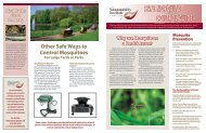 SAFE MOSQUITO CONTROL GUIDE - Molloy College
