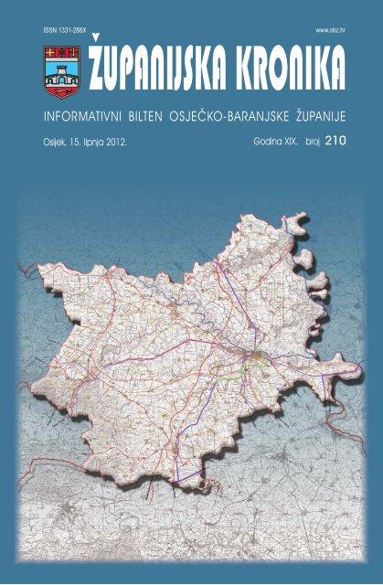 Županijska kronika broj 210 - Osječko baranjska županija