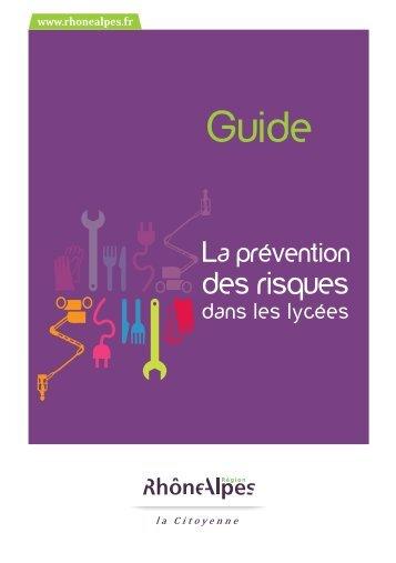 Guide prévention des lycées - Académie de Clermont-Ferrand