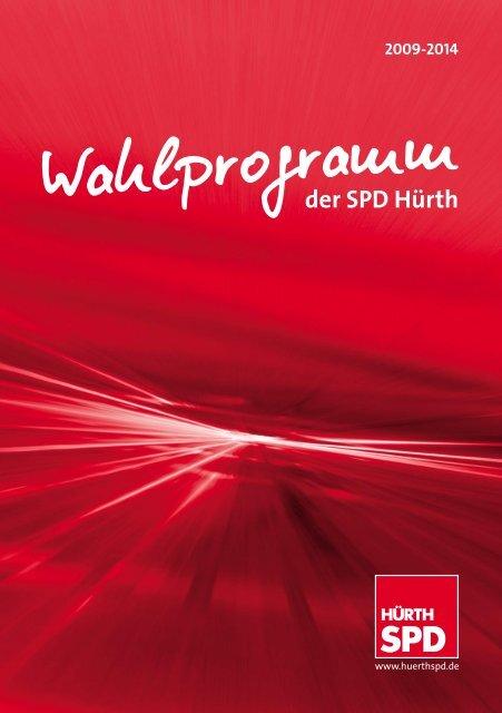 Wahlprogramm 2009-2014 - SPD Ortsverein Hürth