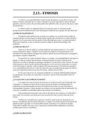 2.13.- FIMOSIS - Urgencias de Pediatría