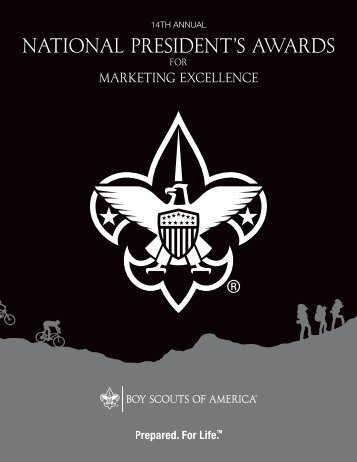 NAtiONAL PREsidENt's AwARds - Boy Scouts of America