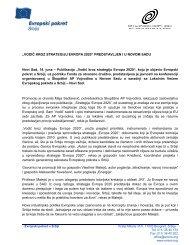 Izvestaj sa promocije Novi Sad - Evropski pokret u Srbiji
