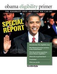 obama eligibility primer - WorldNetDaily