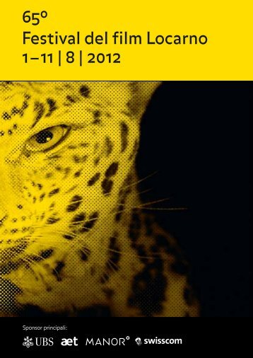 Das Programm (pdf) - Festival del film Locarno