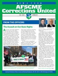 Spring 2011 ACU Newsletter The Assault on Our Basic ... - AFSCME