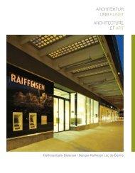 Broschüre als pdf - Büro Binggeli Architekten SIA