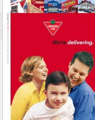 2002 Annual Report - Canadian Tire Corporation