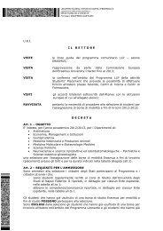 decreto placement nr. 2 - Università degli Studi di Napoli Federico II