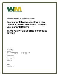 Transportation – Part 1 - West Carleton Environmental Centre ...