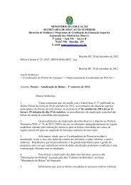 Ofício Circular nº 23/2012-DIPES/SESu/MEC 2012.2