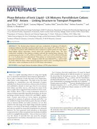 Pyrrolidinium Cations and TFSI- Anions - Chemical & Biomolecular ...