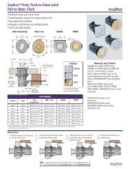 Southco Push to Close Latches - Beetle pdf - Above Board