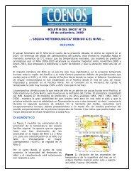 BOLETÍN DEL ENOS1 N°25 18 de setiembre, 2009 - Instituto ...