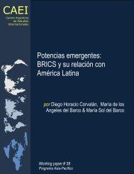 Potencias emergentes: BRICS y su relación con América Latina